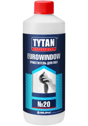 Очиститель для ПВХ № 20 Tytan Professional / 950 мл /