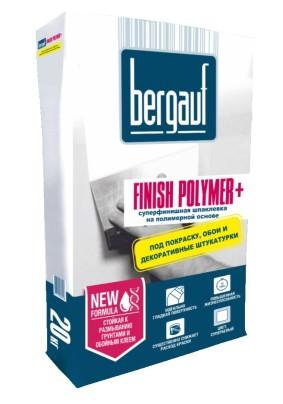 Шпатлевка полимерная Бергауф Finish Polymer+ /20кг/