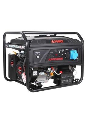 Генератор бенз. A-IPower lite AР6500E 6.0 кВт/25л/220В электростартер