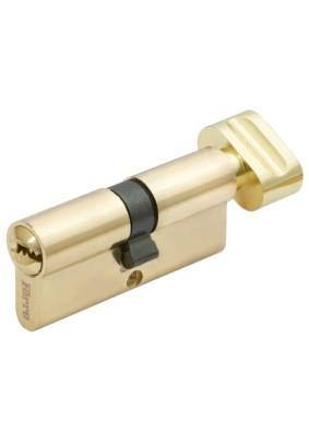Механизм цил. FERRE ZN M80 ZC G  ключ/завертка (40Тх40) золото, 5 ключей
