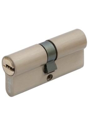 Механизм цил. FERRE ZN M90 Z SN  ключ/ключ (45х45) сатин 5 ключей