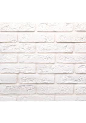 Джерси 900 Белый Плитка гипсовая 4,5х18,5 /уп=0,5 м=47шт/под=70м/