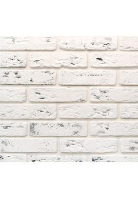 Джерси 945 Белый с серым Плитка гипсовая 4,5х18,5 /уп=0,5 м=47шт/под=70м/