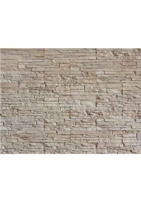 Тонкий пласт 011/Искусственный камень/плоский/80х350/ упак-1 м2