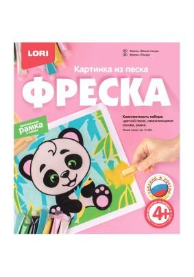 Фреска-картина из песка Lori Мишка панда картонная коробка