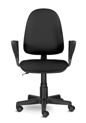 Кресло BRABIX Prestige Ergo MG-311 кожам, чёрное/до 90кг