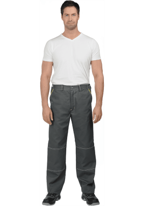 Брюки ТУРБО серые (56-58 рост 170-176) /брю 607