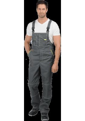 Полукомбинезон ТУРБО серый (48-50 рост 170-176)/ком 657