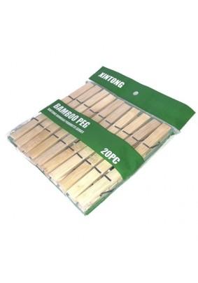 Набор прищепок деревянных 20шт JC-478