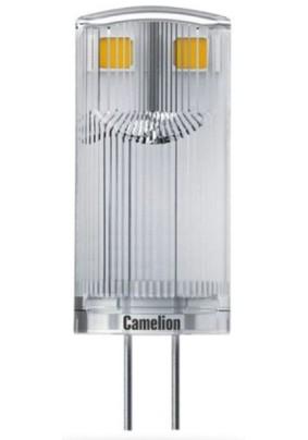 Лампа светодиод. 3 Вт Camelion/JC/3000K/G4/12V