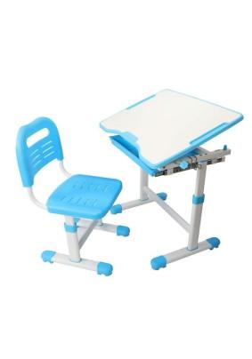 Комплект парта + стул трансформеры Sole Blue