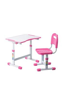 Комплект парта + стул трансформеры Sole II Pink