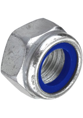 Гайка  со стопорным кольцом М 8 ,нерж.сталь (А2),DIN985