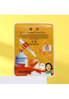 Маска для лица Billidian с экстрактом красного женьшеня 26мл