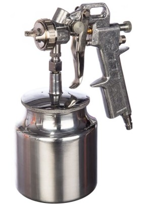 Краскопульт с нижним бачком (200 л/мин, 0.7л сопло 1.5мм) AERO