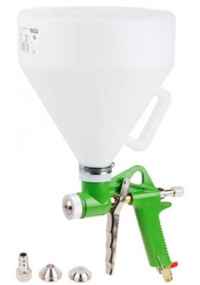 Краскопульт для штукатурки ECO SGH-710 (250л/мин, 3 бар, 5.0л, сопло 4/6/8мм)