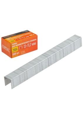 Скобы для пнев. степлера 20GA/д.-13мм/ш.-1,2мм/т.-0,6мм/шир.скобы-11,2/5000шт/STARTUL/ST4530-13