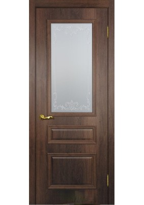 Дверное полотно ДО Верона -2  800 х 2000/ Дуб сан-томе/ст.сатинат