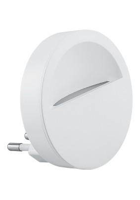Светильник-ночник FN1121 0,45W 230V круг, белый Feron