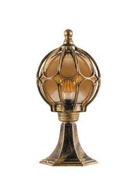 Светильник садово-парковый PL3704 11364 60W 230V Е27  черное золото Feron