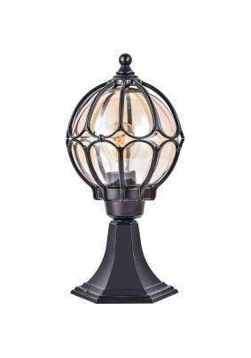 Светильник садово-парковый PL3704 06341 60W 230V Е27  черный Feron