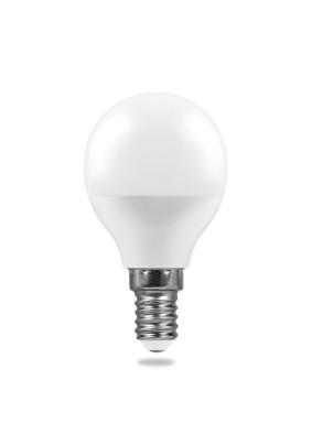 Лампа светодиод.6Вт Feron.PRO шар G45 Е14 2700К 490Лм OSRAM LED