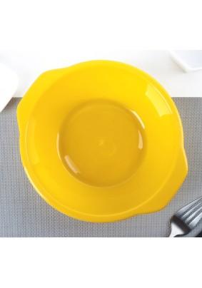 Тарелка пласт. Пикник 700мл цв. микс/3311954