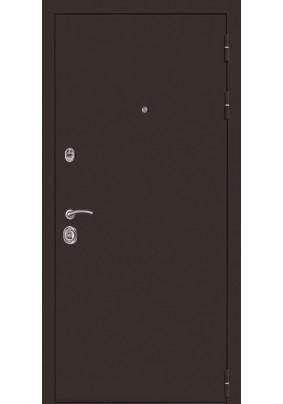 Дверь мет. Браун  медный антик /Сменная панель/2050х860/левая