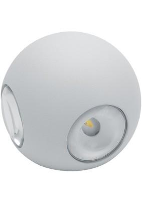 Светильник уличный светодиодный 06313 4х1W 400Lm 4000K белый DH102 Feron