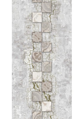 Панель ПВХ /2700х250/ 526 Сахара серая