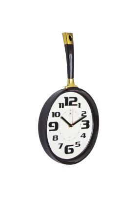 """Часы настенные 2543-006 """"Сковорода"""" 25х43см корпус темно-коричневый """"Рубин"""""""