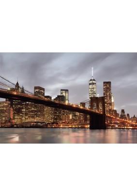 Декоративное панно Fresco Нью-Йорк 025094-3/ 3,0м х 2м фактура винил Россия