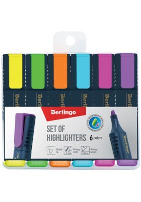 Набор текстовыделителей Berlingo Textline HL500 6цв 1-5мм/241044