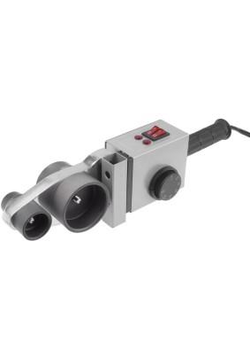 Сварочный аппарат для сварки ПП труб АСПТ-2000 Ресанта 6 насадок Ø20,25,32,40,50,63мм, кейс
