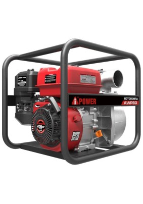 Мотопомпа A-iPower AWP80/7 л.с. 917 л/мин, диам.80 мм,