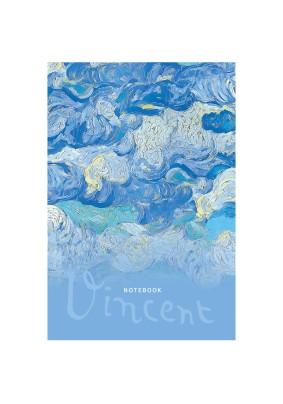 Записная книжка А5 64л. BG Vincent матовая ламинация 308085