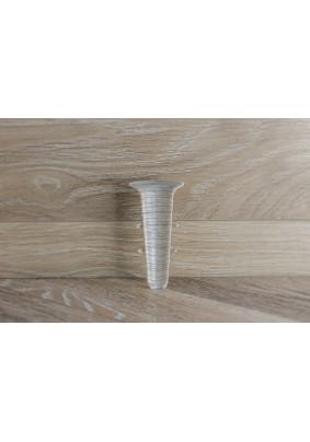 Уголок внутренний для плинтуса ПВХ Деконика 70мм/Ясень Серый