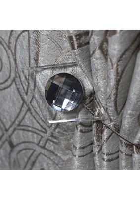 Магнит для штор Ajur MI M15-grey 11735