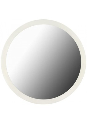 Зеркало круглое 60 см белое Мастер РИО