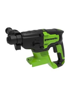 Перфоратор акк. Greenworks GD24SDS2/2 ДЖ, 24V, без АКБ и ЗУ