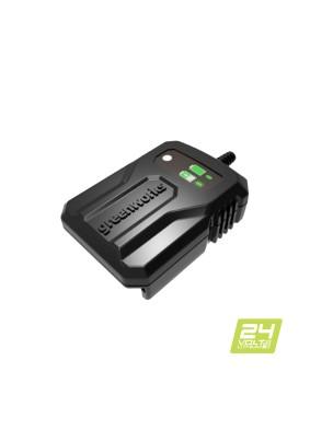 Зарядное устройство Greenworks 24V (слайдер)