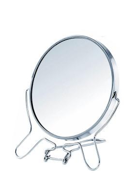 Зеркало складное-подвесное двустороннее с увеличением d=14см 258923