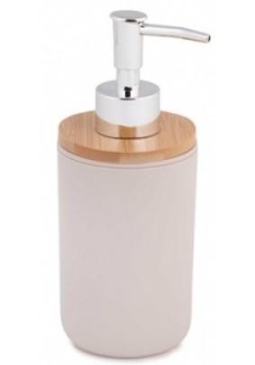 """Дозатор для жидкого мыла """"Бамбук"""" (бежевый) М8059"""