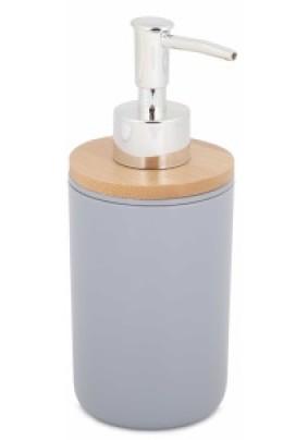 """Дозатор для жидкого мыла """"Бамбук"""" (серый) М8060"""