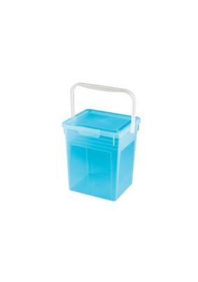 Ведро для стирального порошка 8 л. (Цвета в ассортименте) 4312241