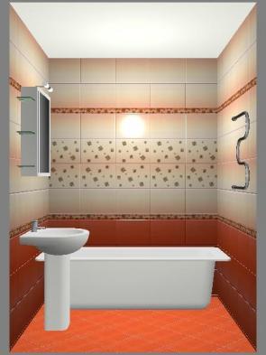 Дизайн ванной 2.5 на 2.5